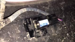 Replacing Sienna Front Parking Sonar Sensor