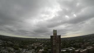 Bomb Cyclone NYC 10-16-19 Timelapse