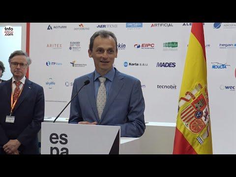 Fuerte presencia de España en Paris Airshow 2019
