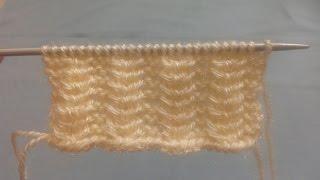 Single Colour Knitting Diagonal Stitch Pattern Gents Sweater