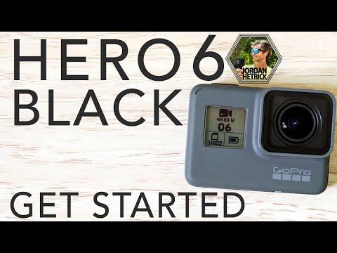 GoPro HERO 6 BLACK Tutorial: How To Get Started