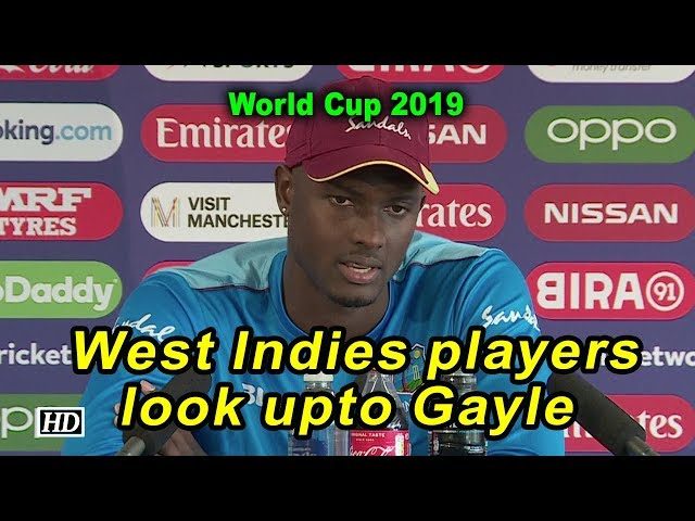 World Cup 2019 | West Indies players look upto Gayle: Holder