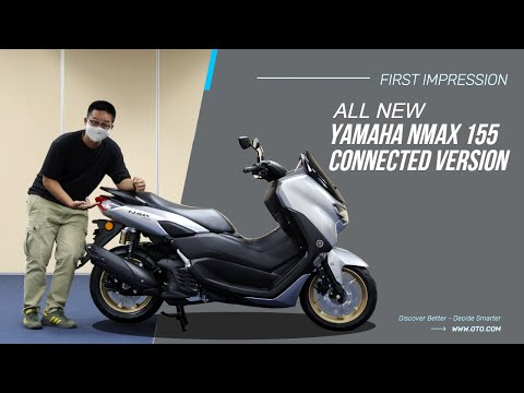 All New Yamaha NMAX 155 Connected Version, Bisa Terhubung ke Smartphone