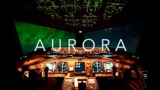 Aurora Borealis From The Cockpit