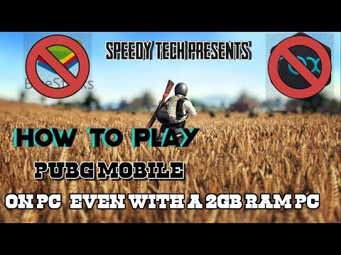 How To Play PUBG Mobile On Low end PC | Phoenix OS | Play