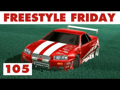 Rocket League FREESTYLE FRIDAY 105