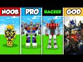 Minecraft NOOB vs PRO vs HACKER vs GOD