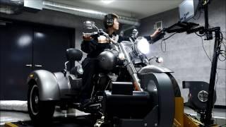 Harley-Davidson Freeweeler on a Dynojet 250ix