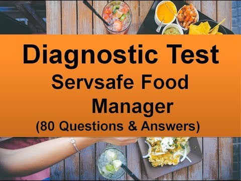 Diagnostic Test - ServSafe Food Manager (80 Questions with ...