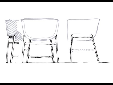Youtube video about the Minuscule chair by Fritz Hansen