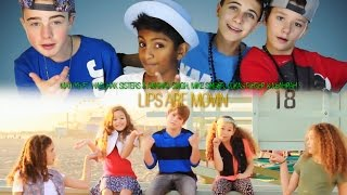 Meghan Trainor   Lips Are Movin(MattyB Ft. Haschak Sisters & The Clique Cover)