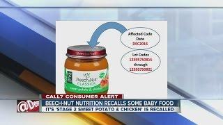 Beech-Nut Recalls Certain Baby Food Jars