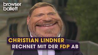Christian Lindner packt aus