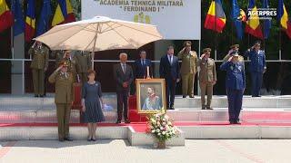 Regele Ferdinand I, omagiat la Academia Tehnică Militară