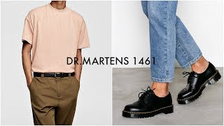 HOW TO STYLE DR. MARTENS 1461 | Mens Fashion | Lookbook | Daniel Simmons