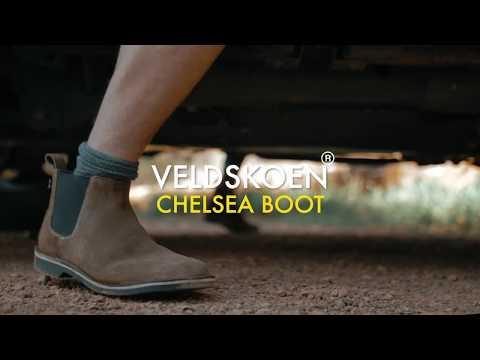 Veldskoen Chelsea Farmer Grey (Size: 8-14) YouTube video thumbnail image