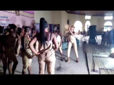 Y.P.C Tasued chapter little clip during Tasued 2017 Yoruba Day