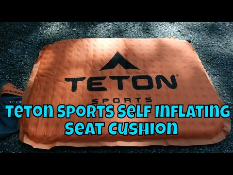 Teton Sports ComfortLite Self Inflating Seat Cushion Review