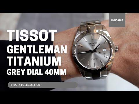 Tissot Gentleman Titanium T1274104408100