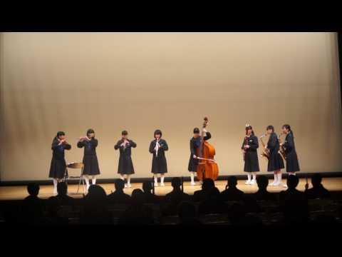 20170211ひとまるアンコン中ホール31・二見中学校ー木管8重奏