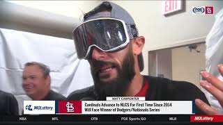 """Carpenter: """"Jack went out and did his thing"""" in Game 5 of NLDS"""