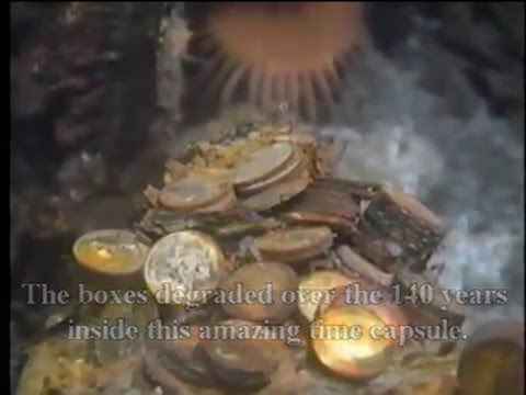 SS Central America Gold Ingot Recovery Highlights