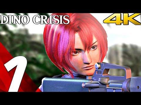 DINO CRISIS HD - Gameplay Walkthrough Part 1 - Prologue [4K 60FPS]