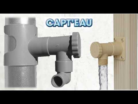 Collecteur d'eau de pluie CAPT'EAU, par BABAZ'INOV