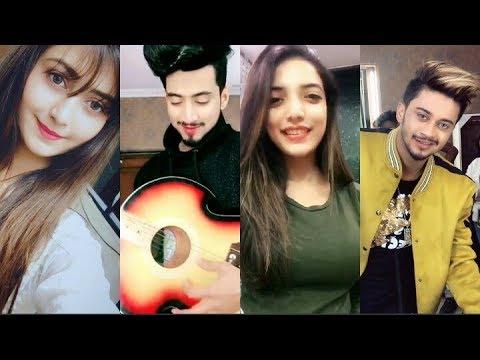 Best Duets Of Mr Faisu & Hasnain With Cute Girls || Tik Tok Videos ||