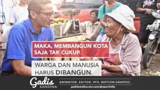 Showreel Editor & Motion Graphic Anies-Sandi (Jakarta Prospective Governor)