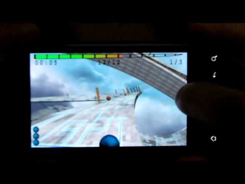 Video of Skyball Lite (3D Racing game)