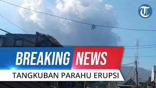Video Detik-detik Gunung Tangkuban Parahu Erupsi, Kolom Abu Mencapai Ketinggian 200 Meter