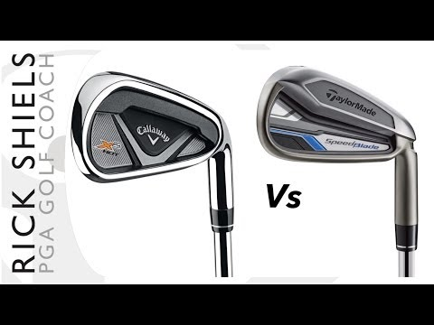 Longest Irons Callaway X2 Hot Vs TaylorMade SpeedBlade