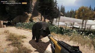 Far Cry 5, Part 19 / M133 Shotgun, Grizzly Bear Hunt and Peaches Rescue!