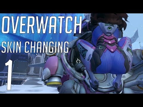 Overwatch – Skin blending highlight intros