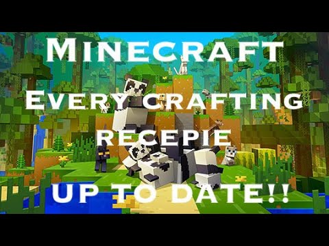 Video Minecraft: All Crafting Recipes (1.11) (Up To Date)