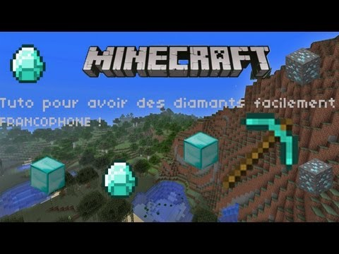 comment trouver facilement du diamant dans minecraft