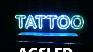 Pixel Led Tattoo Tabelası