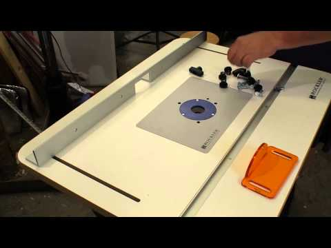Rockler Complete Basic Router Table Kit Review: NewWoodworker