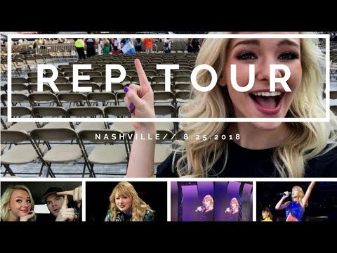 Reputation Tour Nashville // Vlog