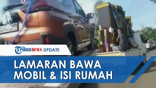 Viral Video Rombongan Pengantar Lamaran di Batang Bawa Perabot Isi Rumah hingga Mobil Mewah