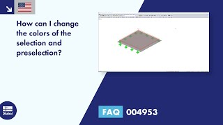 FAQ 004953 | How can I change the colors of the selection and preselection?