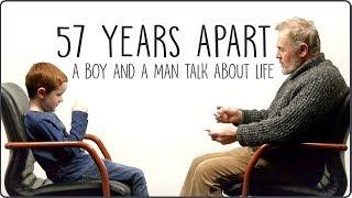 Смотреть онлайн Племянник и дедушка разговаривают о жизни
