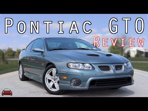2005 Pontiac GTO Review - A Bright Light: Extinguished