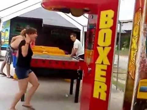 Record mundial de puñetazo