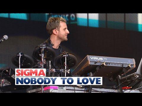 Nobody to love sigma lyrics karaoke software