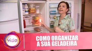 Dica de organização: como organizar gavetas e a geladeira