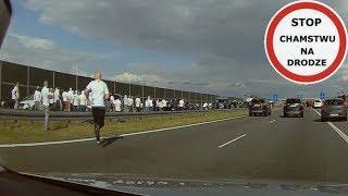 Ustawka kibiców Legii i Widzewa na autostradzie A2 #137 Wasze Filmy