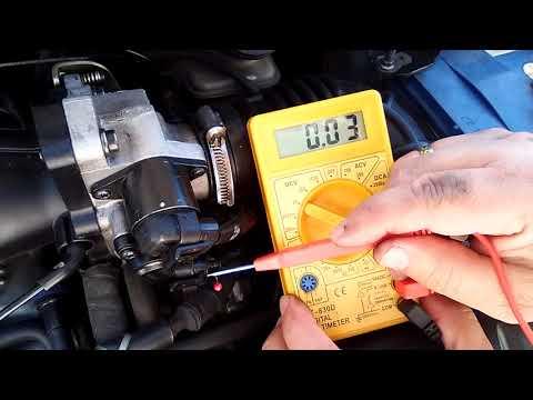 Cómo  Saber si el Sensor TPS Funciona Correctamente