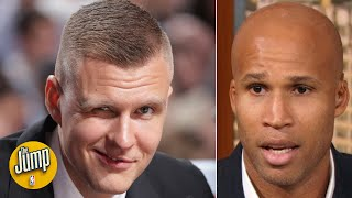 The Knicks should have kept Porzingis at all costs - Richard Jefferson | The Jump